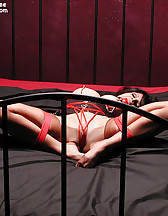 Bondage in a bedroom, pic #9