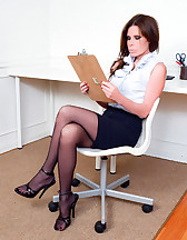 Captured secretary, pic #1