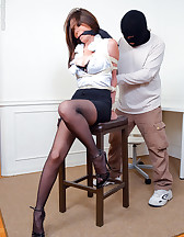 Captured secretary, pic #5