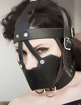 Ashley gagged and strapped, pic #11