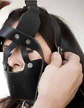 Ashley gagged and strapped, pic #10