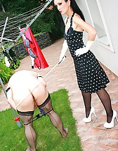 Punished and denied panty sniffer, pic #12