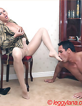 Lana Cox smokes cock, pic #6