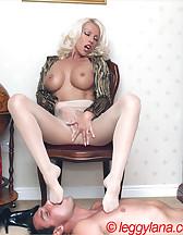 Lana Cox smokes cock, pic #8