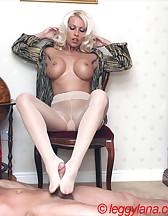 Lana Cox smokes cock, pic #9