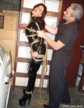 Suspension rope bondage, pic #11