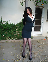 Office lady bound, pic #1