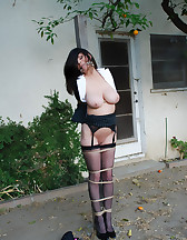 Office lady bound, pic #11