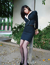 Office lady bound, pic #2