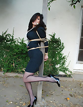 Office lady bound, pic #5