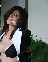Office lady bound, pic #8