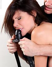 Latex corset and bondage, pic #5
