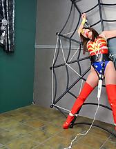 Spider web bondage, pic #4