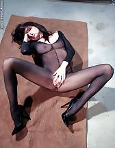 Nylon bodysuit, pic #10