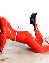 Bound in red latex, pic #6