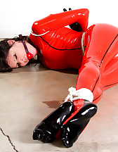 Bound in red latex, pic #8