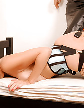 Ashley in bondage and her Mistress, pic #3