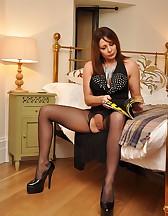 Bedroom femdom pleasures, pic #1