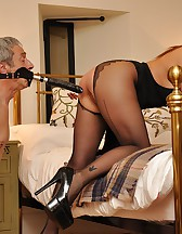 Bedroom femdom pleasures, pic #11