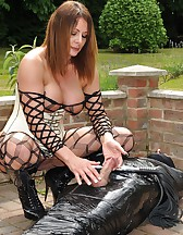 Cling Filmed Sex Slave, pic #13